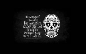 ... quotes artwork skulls monsters description abstract skulls monsters