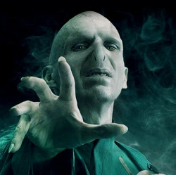 Next to Sau ron the Dark Lord of Mordor… stands Lord Voldemort as ...