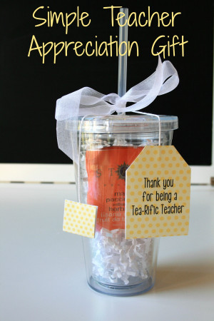 Six Awesome Year-end Teacher Gift Ideas (that won't break the bank!)