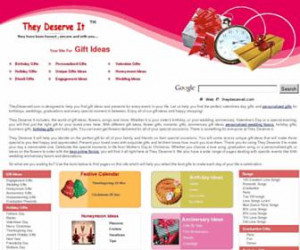 theydeserveit.com Gift Ideas: Birthday Gifts, Wedding Gifts, Love ...