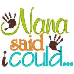 Nana Quotes And Sayings   Custom Made Family Sayings & Designs More
