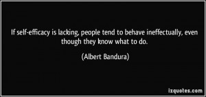Albert Bandura's Quotes