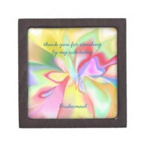 Bridesmaid Thank you Gift Box Premium Gift Boxes