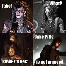 Bite Meh.: Andy Sixx and Jake Pitts by WolfyLoveYou