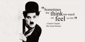 "Charlie Chaplin's inspirational final speech in ""The Great ..."