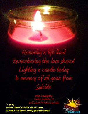 In memory of all gone from Suicide | The Grief Toolbox