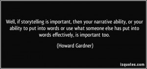 More Howard Gardner Quotes
