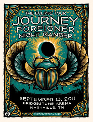 journeyRangers Silkscreen, 80S Music, Music Posters, Awesome Concerts ...