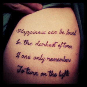 reddit.comMy friend's new tattoo, and my favorite quote. : harrypotter