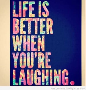 Laugh And Your Friends Laugh With You