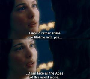 Arwen & Aragorn. Awww! :')