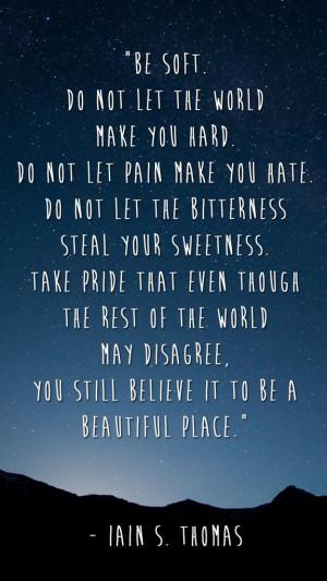 Iain S. Thomas motivational inspirational love life quotes sayings ...