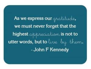 Art jfk thankful quote quotes