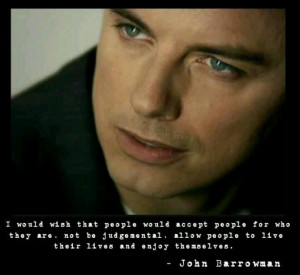 Awesome John Barrowman quote