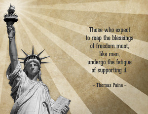 morningdance › Portfolio › Thomas Paine Quote