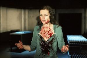 Kate Fleetwood (Lady Macbeth).Photograph by Manuel Harlen