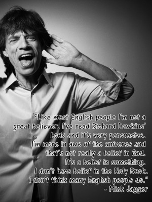 Mick Jagger Quotes
