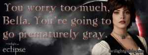 The Twilight saga: Eclipse Eclipse Quote Graphics