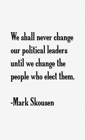 Mark Skousen Quotes & Sayings