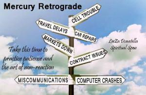 Mercury Retrograde 2014 and 2015