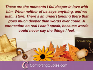Being in Love Quotes for Him