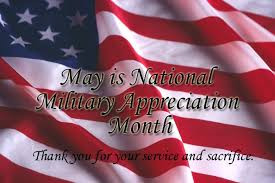 National Military Appreciation Month: May 2013