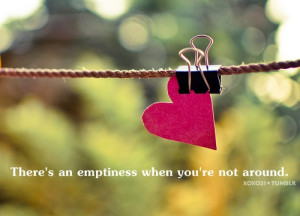Emptiness Quotes And Sayings There's an emptiness when