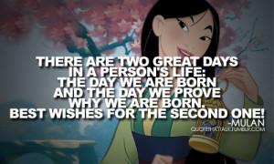 disney, life, mulan, quotes, true