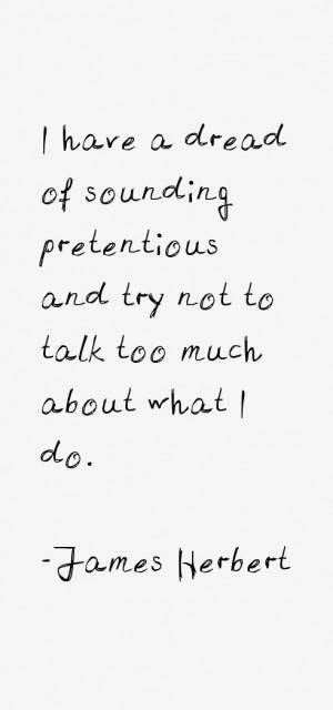 James Herbert Quotes & Sayings