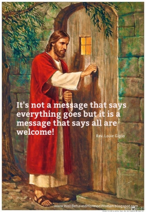 It's not a message that says everything goes but it is a message that ...