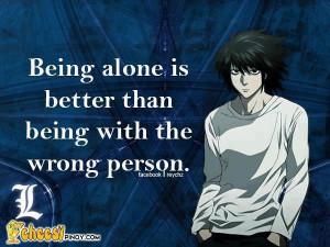 Anime / L / Death Note / Quote / So true