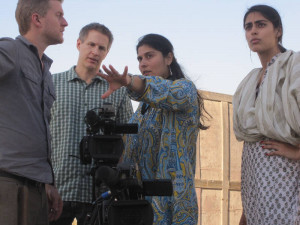 ... with Oscar nominee from Pakistan — Sharmeen Obaid Chinoy