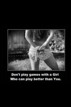 Don't play games