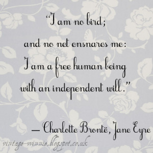 Jane Eyre' Quote - Charlotte Brontë