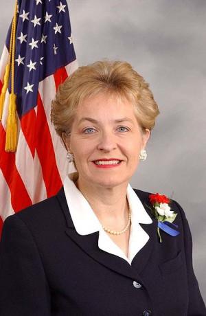 Marcy Kaptur, Democrat, and Congressional representative from Ohio.