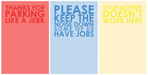 Passive Aggressive Notepads