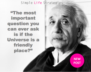 The most important question you can ever ask is if the world is a ...