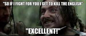 Typical Irish film character(Braveheart). . Stl If I TIGHT FIJI! Till ...