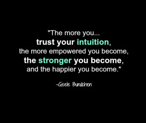 Power Of Intuition!