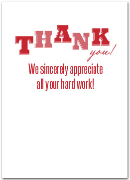 Employee Appreciation Thank You Quotes Employee Appreciation Thank