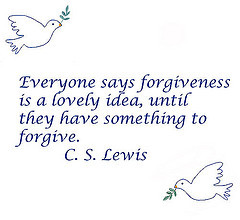 forgiveness (Photo credit: cheerfulmonk)