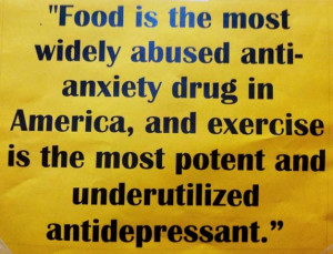 Food is the most widely abused anti-anxiety drug in America, and ...