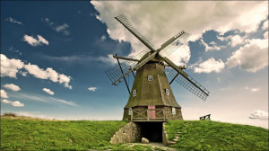 Who doesn't love a good windmill photo?
