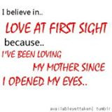 Love My Mom Loads, She Means The World To Me