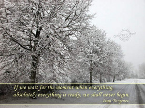 Inspirational Quotes About Winter