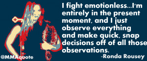 No Emotion Quotes 5 quotes on fighting without