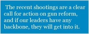 Zero Tolerance on Guns