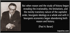 But when reason and the study of history began revealing the ...