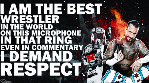 CM Punk Quote wallpaper