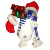 Hand Crafted Fabriche Star Wars R2D2 Christmas Figure